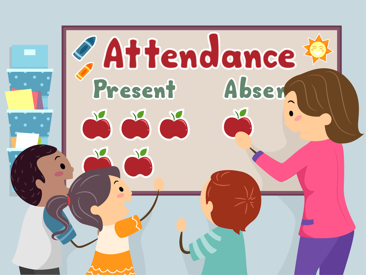 Digital Attendance for Nurseries