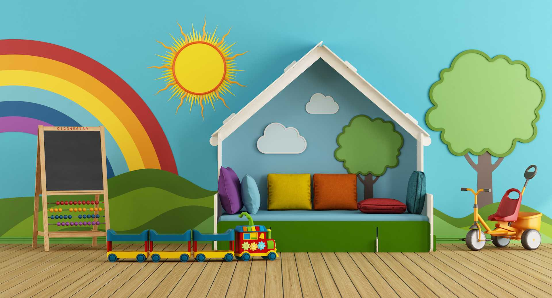 Arranging your nursery space when starting a new day nursery