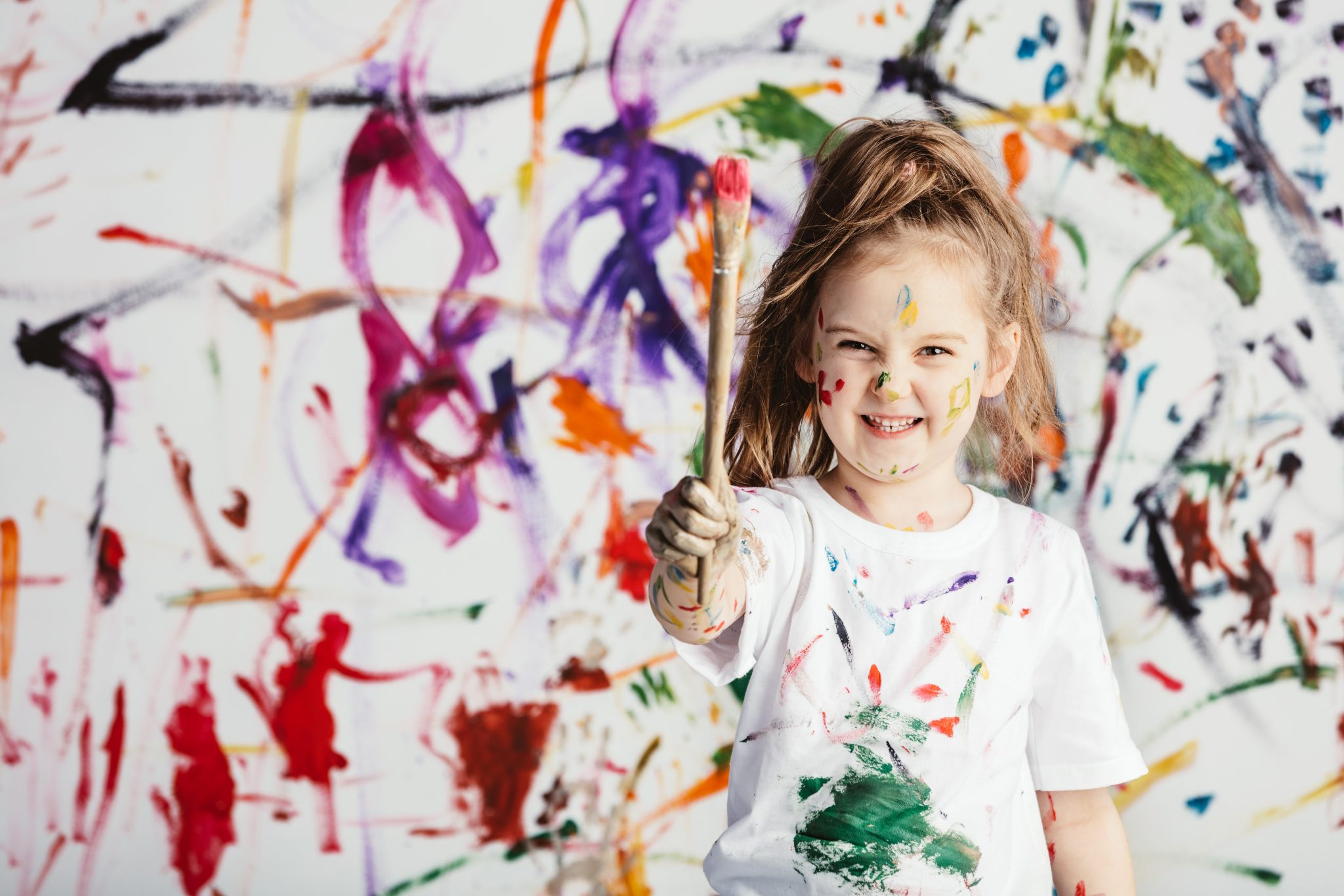 benefits of sensory play : messy sensory play