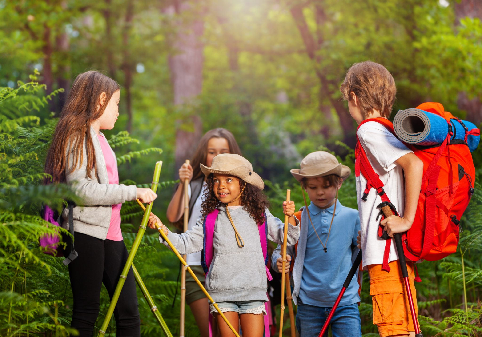 Geocaching summer activity ideas for kids
