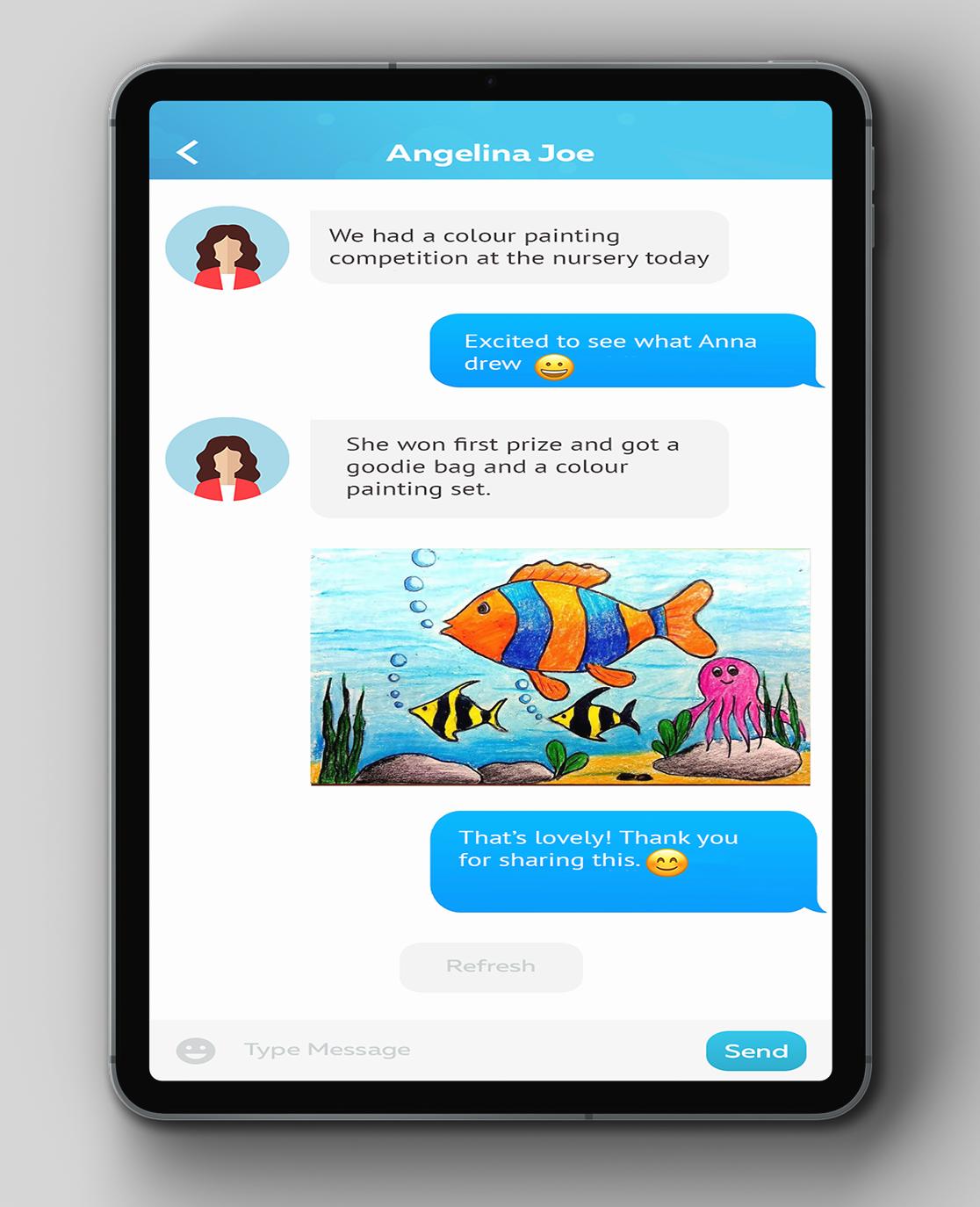 Premium parent engagement features from Cheqdin