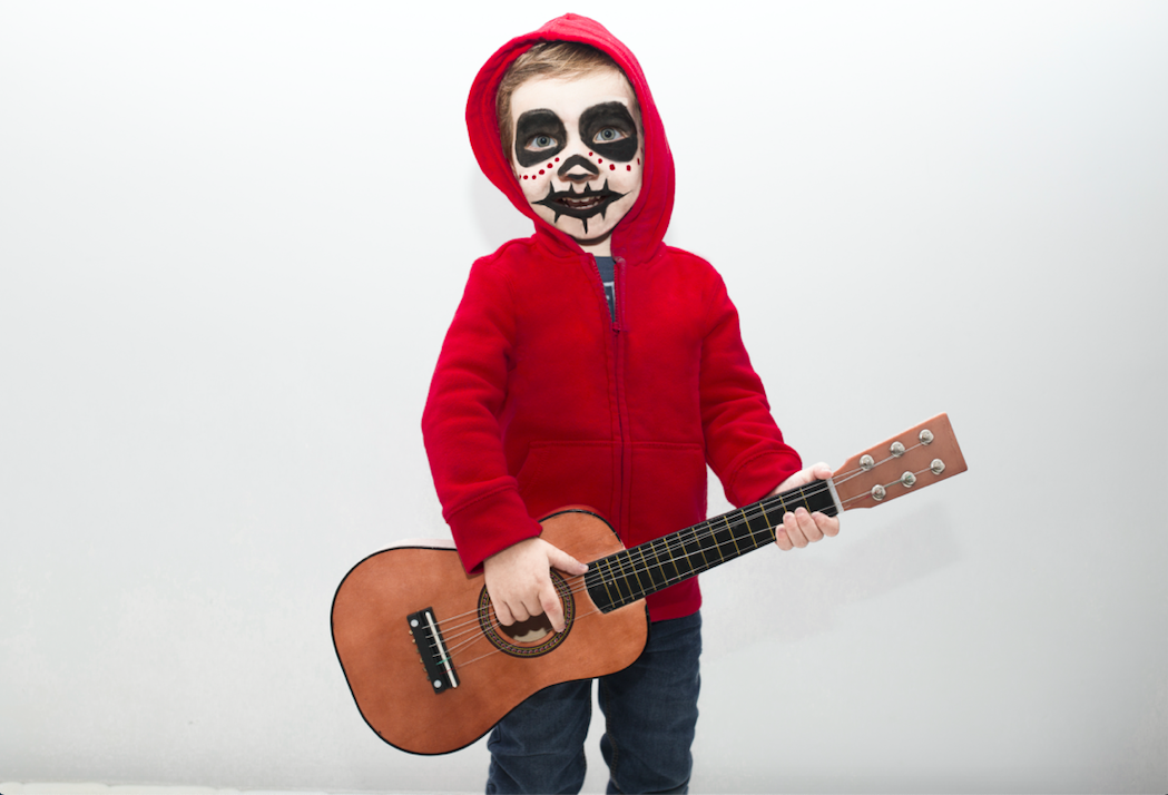 Kids Halloween outfit for Hector from Coco